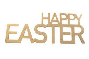 Napis HAPPY EASTER