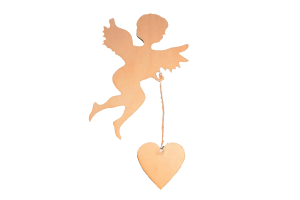 Cupid with a heart  AM01