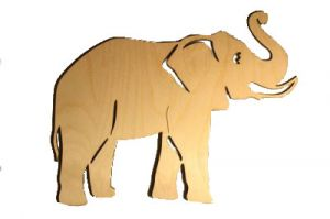 Elephant, plywood 3mm